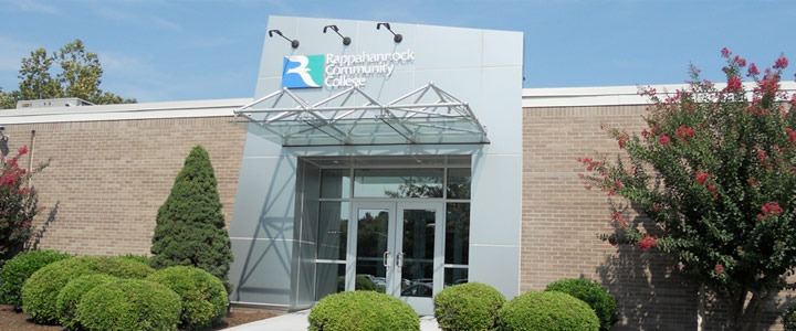Rappahannock Community College's Glenns Campus in Gloucester Va