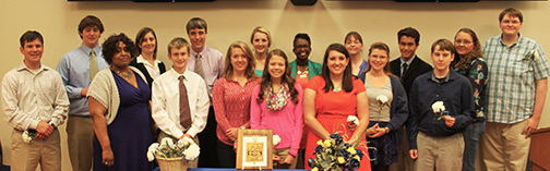 PTK Inductees – Warsaw Campus