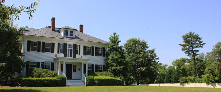The historic Chinn House, home of the RCC Foundation