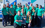 """At the Urbanna Oyster Festival Firemen's Parade, RCC's Mobile Simulation Lab won first place in the category of """"Best-Appearing Specialty Truck/Rescue."""""""