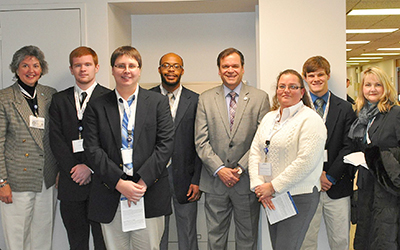 RCC students visited the General Assembly on January 28.