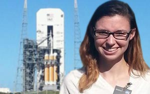RCC student visits Orion launch site