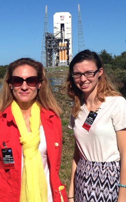 RCC student at NASA orion launch
