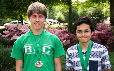 Local high school students competed in the annual Individual Math Contest at both RCC campuses on May 6.