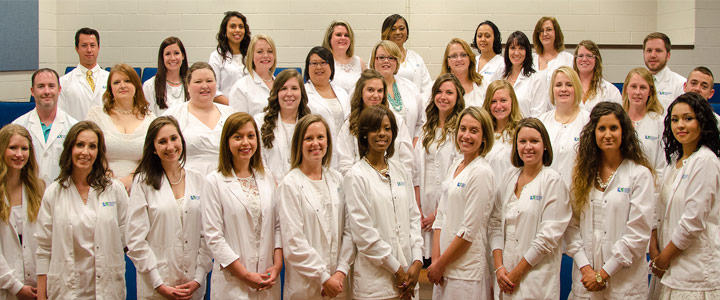 Students of RCC's associate-degree nursing program, Class of 2015, received their pins at a ceremony on May 8. .