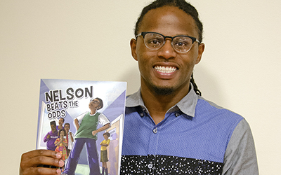 """Nelson Beats the Odds,"" a new graphic novel by local author Ronnie Sidney, is intended to inspire students diagnosed with learning disabilities and mental health disorders to overcome the challenges they are faced with."