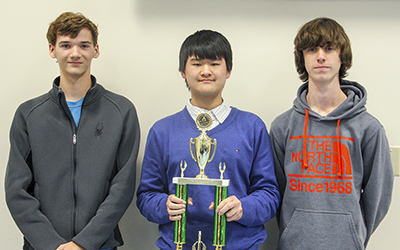 RCC Team Math Contest - 1st Place Team