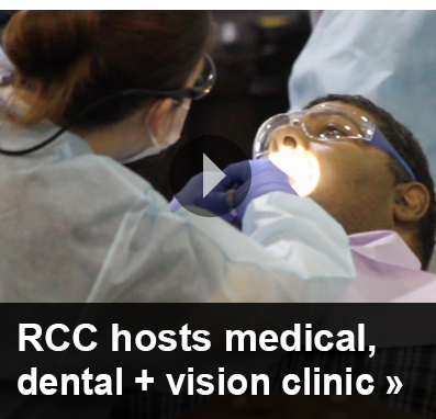 RCC sponsors hugely successful medical, dental, and vision clinic