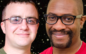 "RCC students Gabriel Fearing and Vincent Lewis were chosen to participate in the five-week online ""NASA Community College Aerospace Scholars"" program."