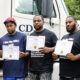 A class of ten students has recently graduated from the four-week truck-driver training course offered by RCC in cooperation with CDS Tractor Trailer Training