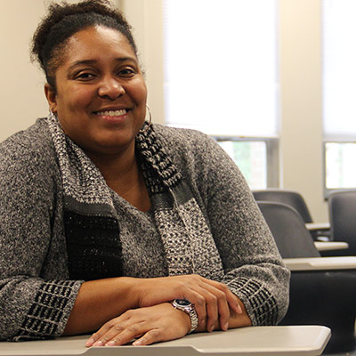 Lisa Carrington is RCC's newest information technology instructor.