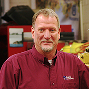 Steve Patt is the director of RCC's new Diesel Mechanics Technology career studies certificate program.