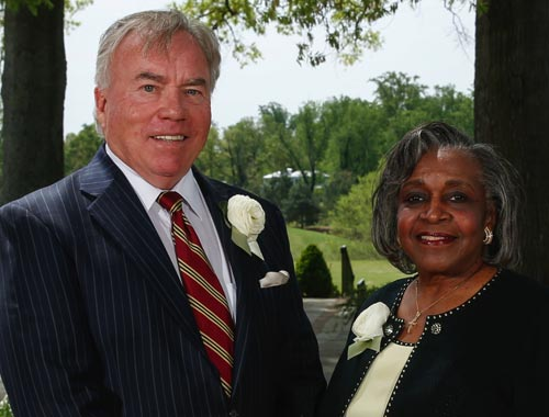 VCCS Chancellor Glenn DuBois and Dr. Dorothy Cosby Cooke