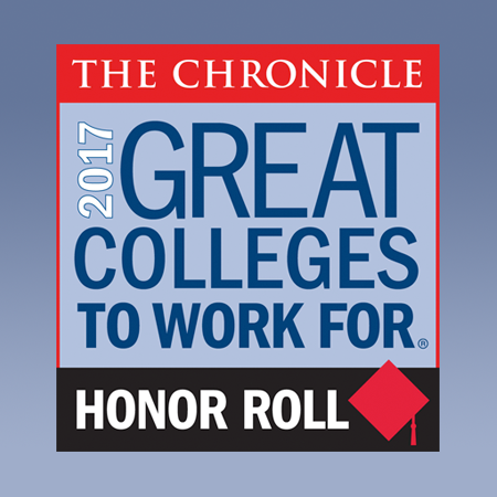 great college to work for 2017 logo