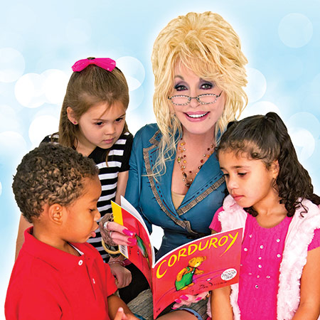 Image result for dolly parton imagination library
