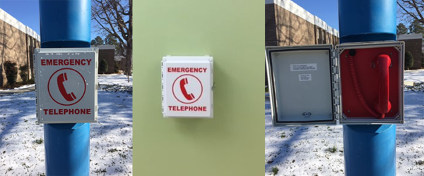 Emergency Phones at RCC