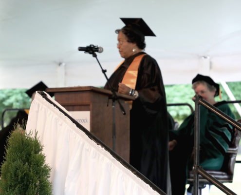 Avis Hackett-Fortune delivers RCC's 2019 Student Commencement Address, May 10, 2019