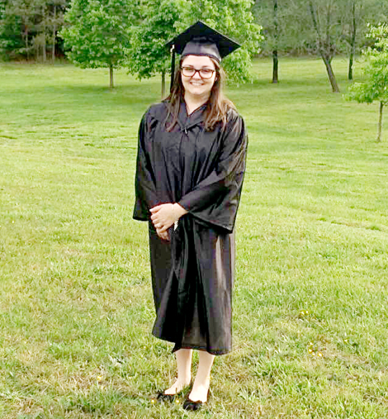Ashlee Greene-Nichols graduated from Rappahannock Community College in 2016