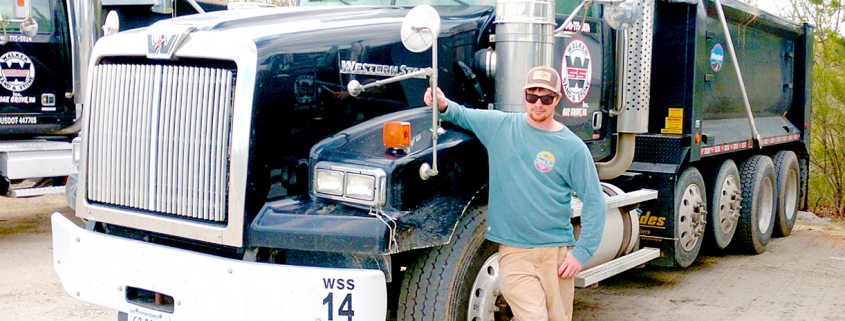 david comerford, learned cdl at rappahannock community college in virginia