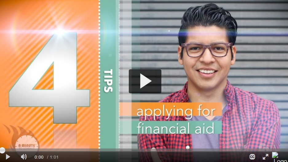 Applying for Financial Aid Video